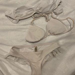 Well loved white bikini bundle